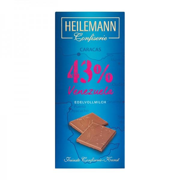 Ursprungs-Schokolade Venezuela 43% Edelvollmilch-Schokolade, 80 g