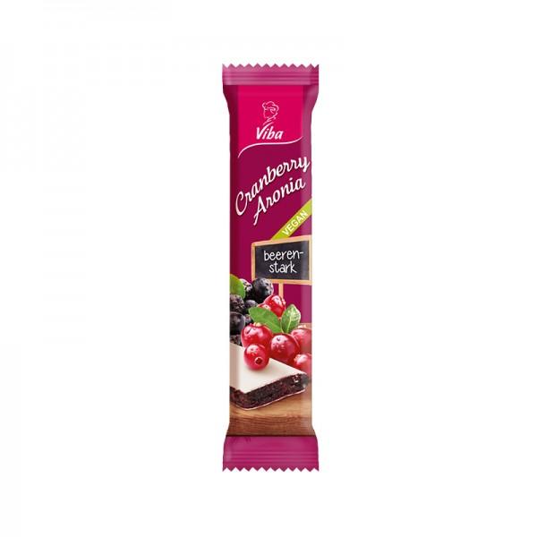 Viba Fruchtriegel Cranberry-Aronia, 35g