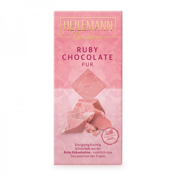 Ruby Chocolate pur, 80 g
