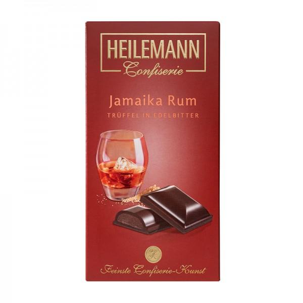 Heilemann Jamaika-Rum-Trüffel in Edelbitter-Schokolade, 100 g
