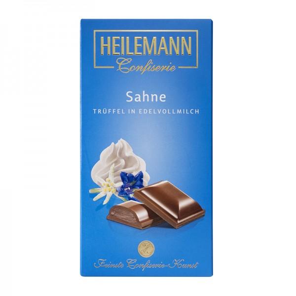 Sahne-Trüffel in Edelvollmilch-Schokolade, 100g