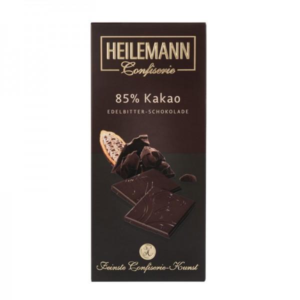85% Kakao Edelbitter-Schokolade, 80g