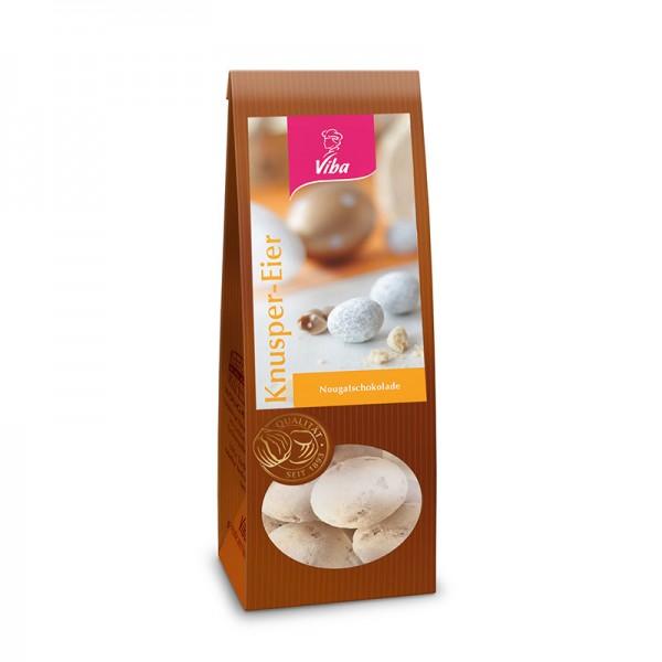 Viba Knusper-Eier Nougatschokolade, 100 g