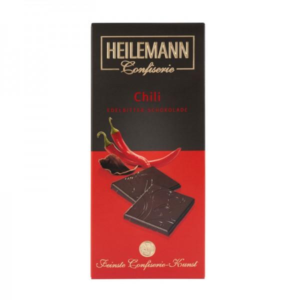 Chili Edelbitter-Schokolade, 80 g