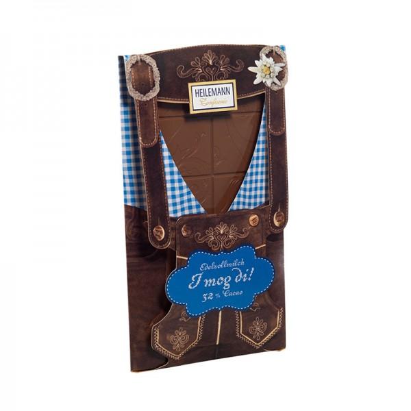 Tafelschokolade Lederhose, 80 g