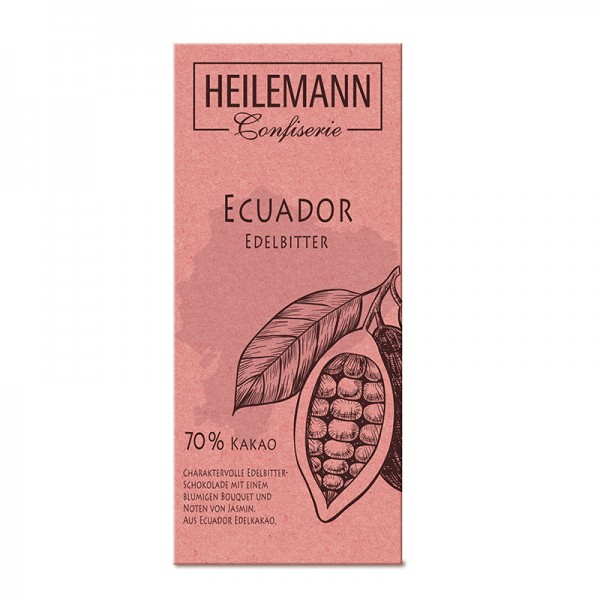 Ursprungs-Schokolade Ecuador 70 % Edelbitter, 80 g