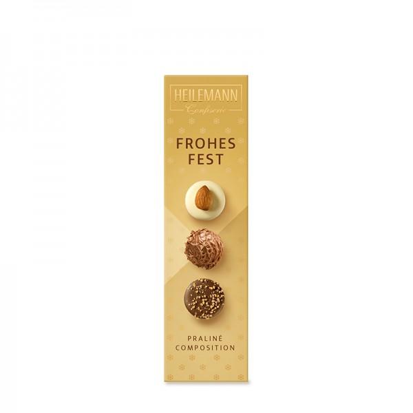 """Heilemann Weihnachts-Pralinés """"Frohes Fest"""", 50 g"""